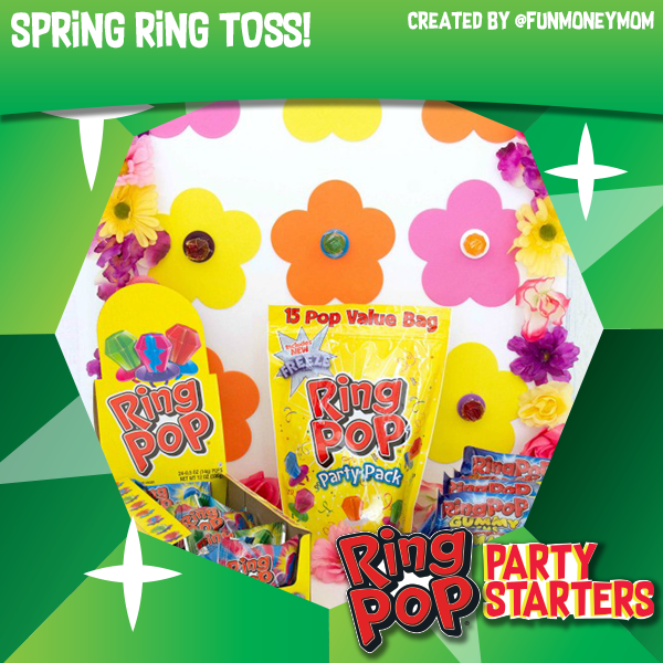 Ring Pop® Spring Ring Toss Game