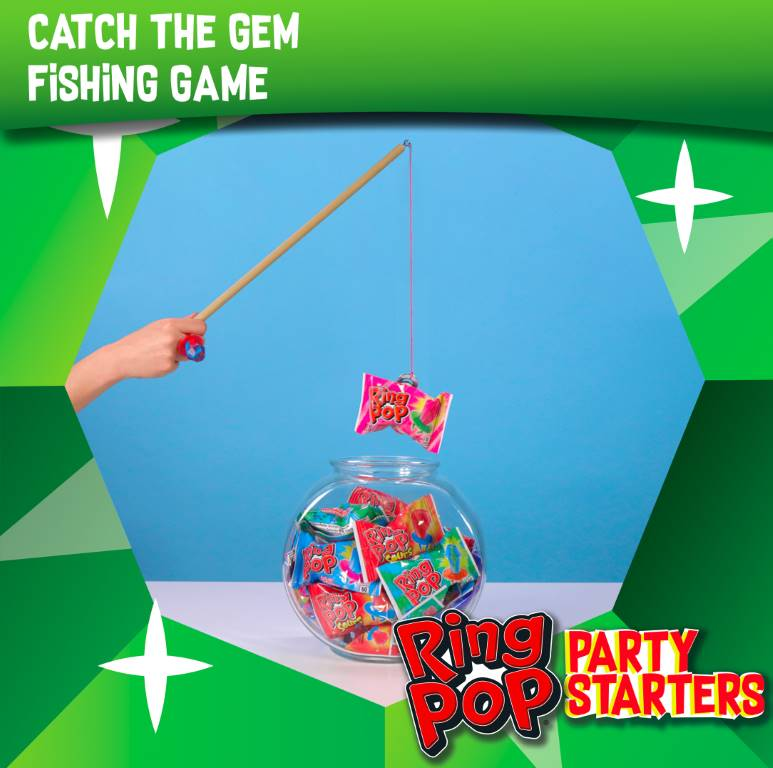 "Ring Pop® ""Catch The Gem"" Fishing Game"
